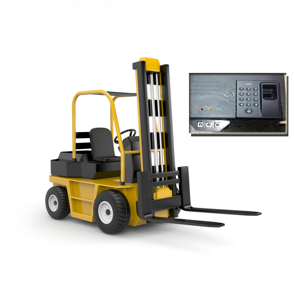 CAMS Forklift biometric device, with web api supported