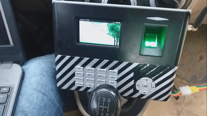 Fleet or Automobile or Forklift Biometric API